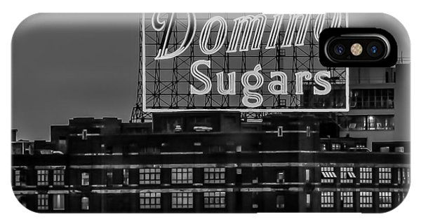 Domino Sugars Sign IPhone Case