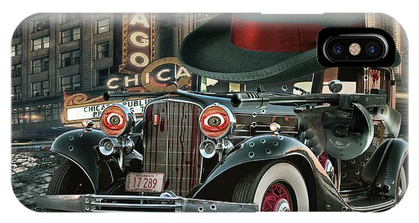 Chicago Art iPhone Case - Don Cadillacchio by Marian Voicu
