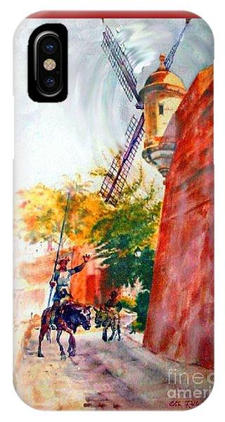 Don Quixote In San Juan IPhone Case