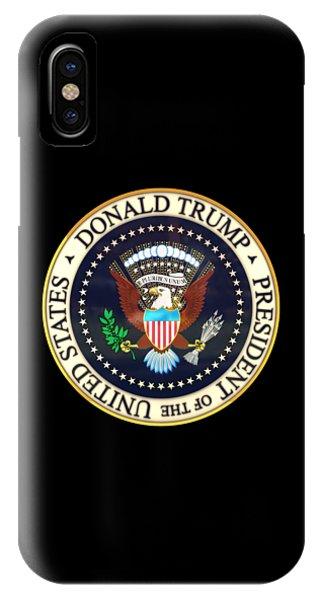 Donald Trump President Seal IPhone Case