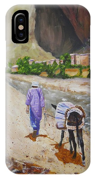 Donkey Work IPhone Case