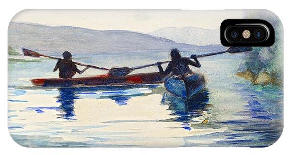 Donner Lake Kayaks IPhone Case