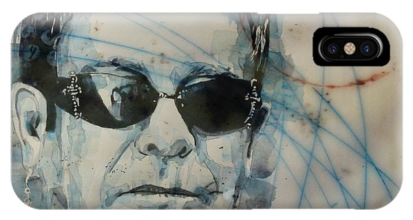 Elton John iPhone Case - Don't Let The Sun Go Down On Me  by Paul Lovering