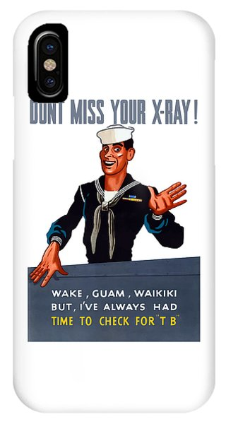 Don't Miss Your X-ray - Ww2 IPhone Case