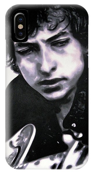 Bob Dylan iPhone Case - Dont Think Twice Its Alright by Hood alias Ludzska