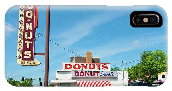 Donut Drive In IPhone Case