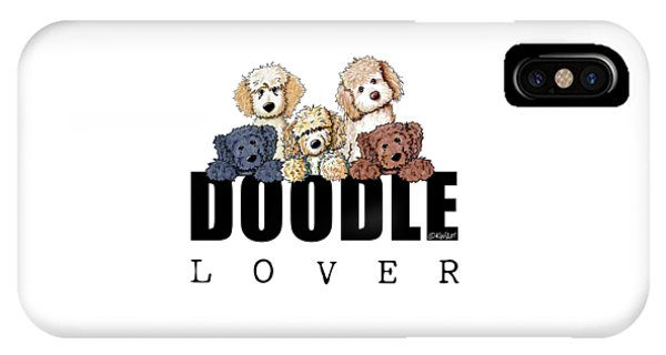 Doodle Lover IPhone Case