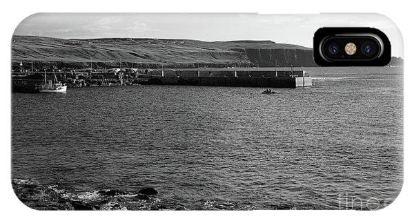 Doolin Harbour IPhone Case
