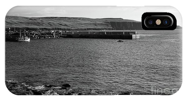 Doolin Harbour IPhone Case