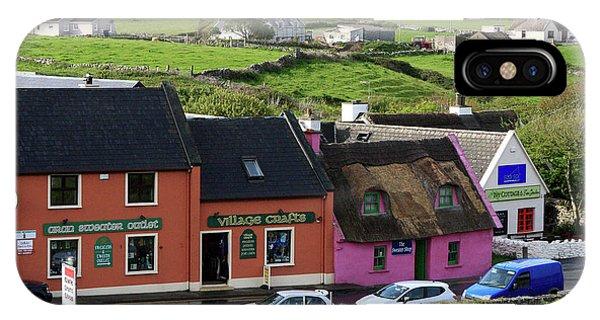 Doolin Village County Clare IPhone Case
