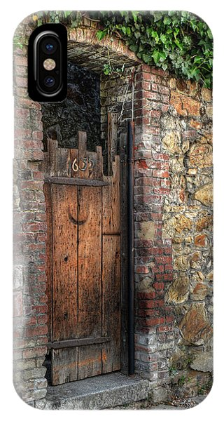 IPhone Case featuring the photograph Door 1635 by Michael Kirk