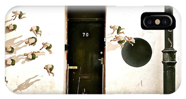 Door Seventy Street Art IPhone Case