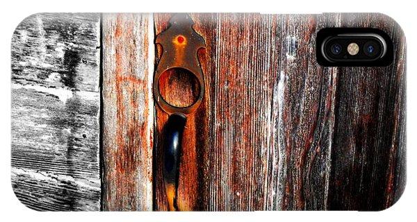 Door To The Past IPhone Case