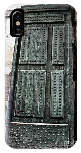 Door To The Roman Gateway IPhone Case