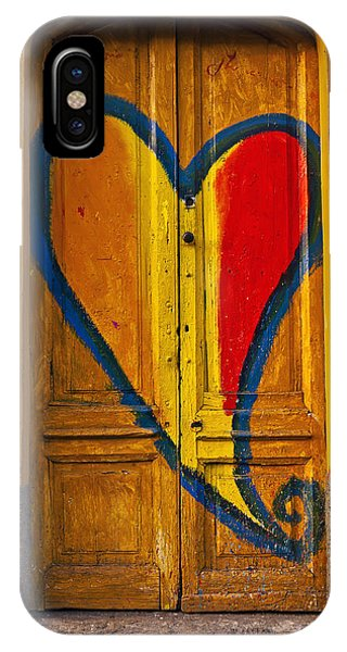 Valentines Day iPhone Case - Door With Heart by Joana Kruse