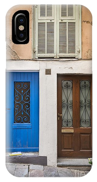French Riviera iPhone Case - Doors And Window by Elena Elisseeva
