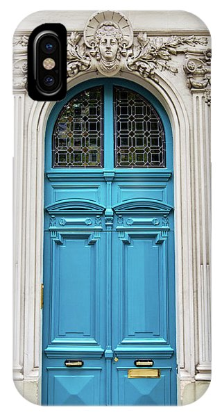 IPhone Case featuring the photograph Doors No. 4 - Paris, France by Melanie Alexandra Price
