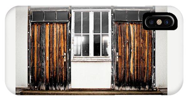 Doors Of Dachau IPhone Case
