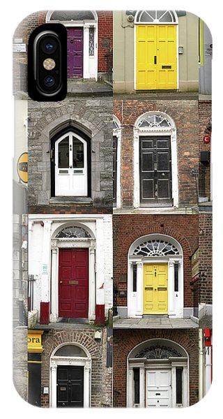 Doors Of Limerick IPhone Case