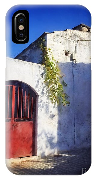 Greece iPhone Case - Doorway In Crete by HD Connelly