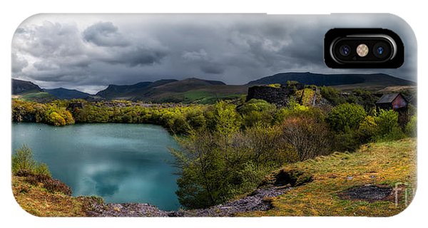 Dorothea Quarry Panorama IPhone Case