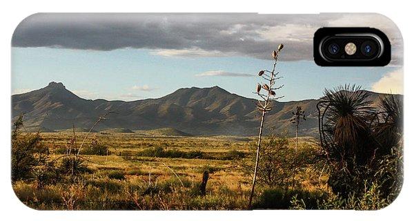 Dos Cabezas Grasslands At Dusk IPhone Case
