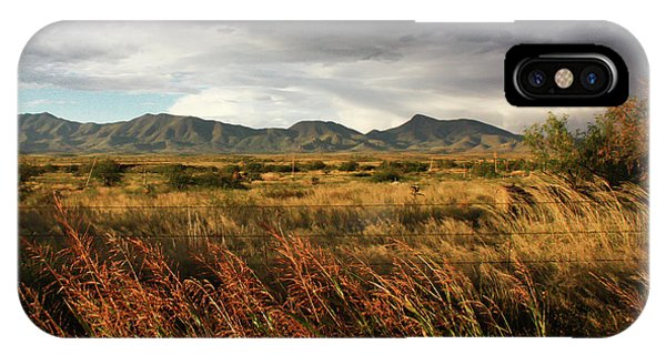 Dos Cabezas Grasslands IPhone Case