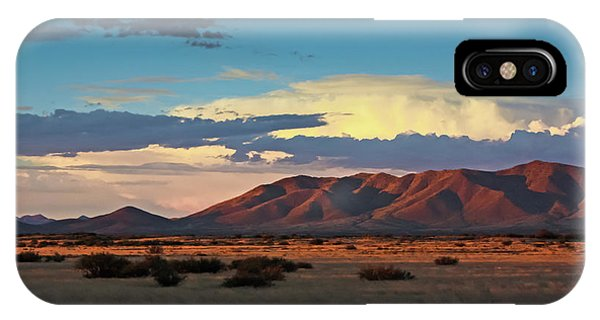 Dos Cabezos Sunset Serenity IPhone Case