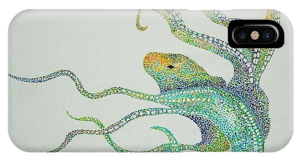 Dot Octopus IPhone Case