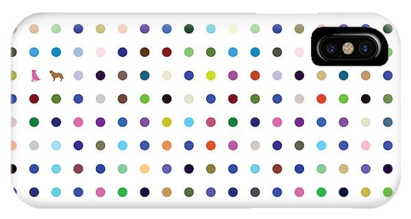 Dots And Dogs IPhone Case