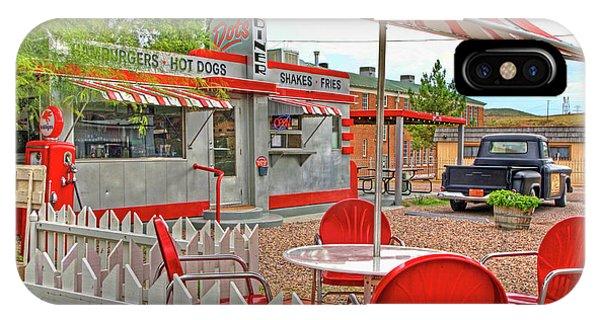 Dot's Diner In Bisbee Arizona IPhone Case