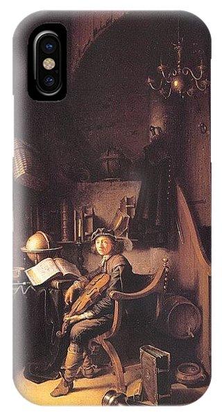 iPhone Case - dou10 Gerrit Dou by Eloisa Mannion