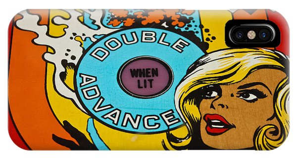 Double Advance - Pinball IPhone Case