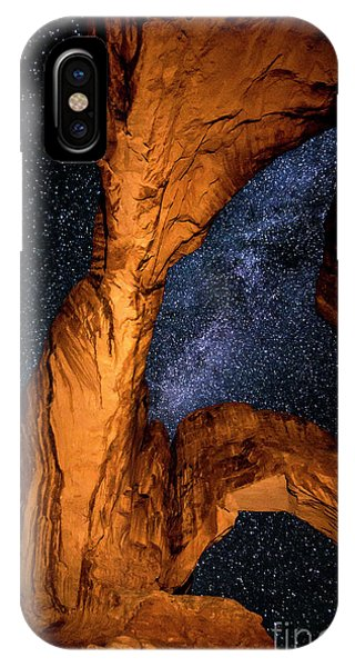 Double Arch And The Milky Way - Utah IPhone Case