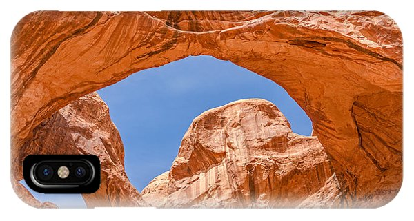 Double Arch At Arches National Park IPhone Case