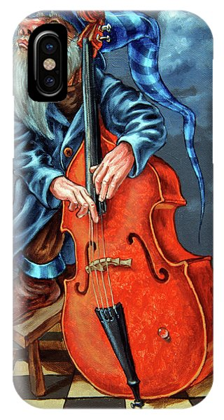 Double Bass And Bench IPhone Case