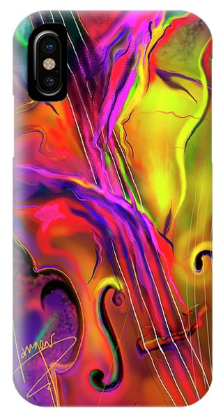 Double Bass Solo IPhone Case