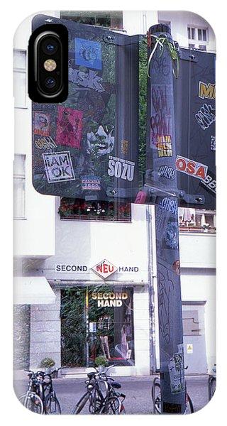 Double Exposure Street Sign IPhone Case