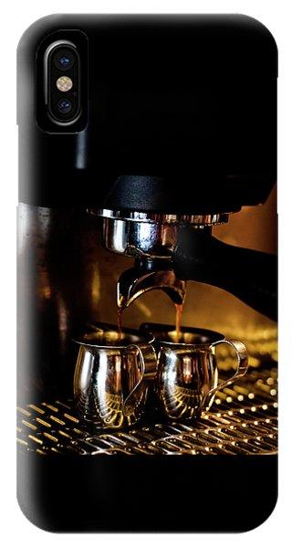 Double Shot Of Espresso 2 IPhone Case