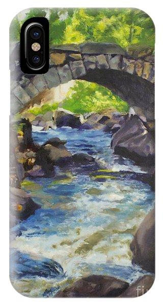 Double Stone Arch Bridge  IPhone Case
