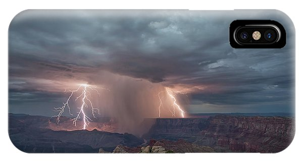Double Strike Canyon IPhone Case