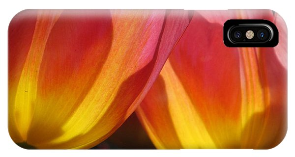 Double Tulips IPhone Case
