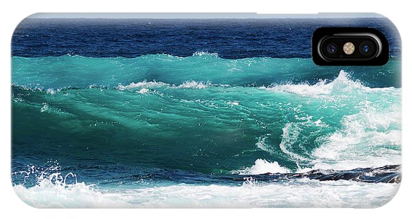 Double Waves IPhone Case