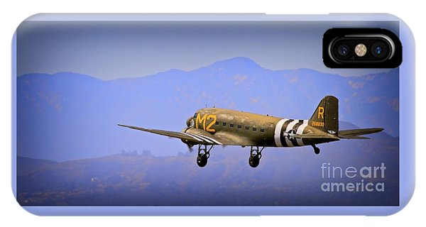 Douglas C-47 Invasion Blues IPhone Case