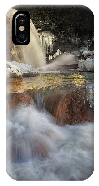 Douglas Falls Flow IPhone Case