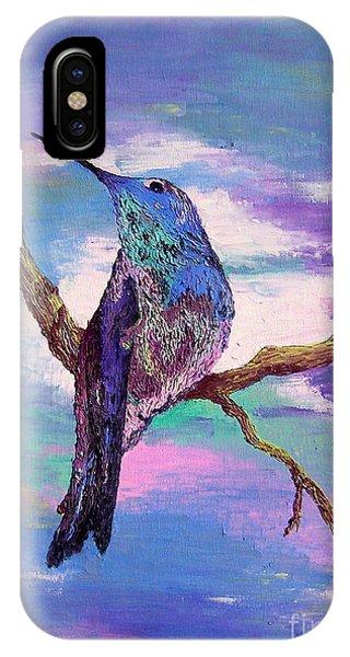Dougs Hummingbird IPhone Case