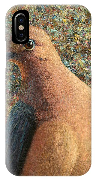 Dove iPhone Case - Dove by James W Johnson