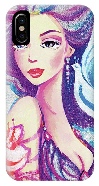 Dove Mermaid IPhone Case