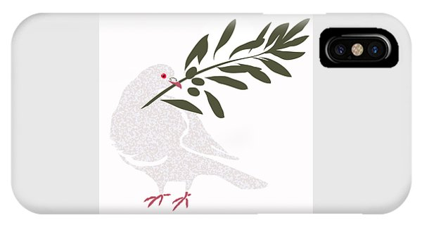Dove Of Peace IPhone Case