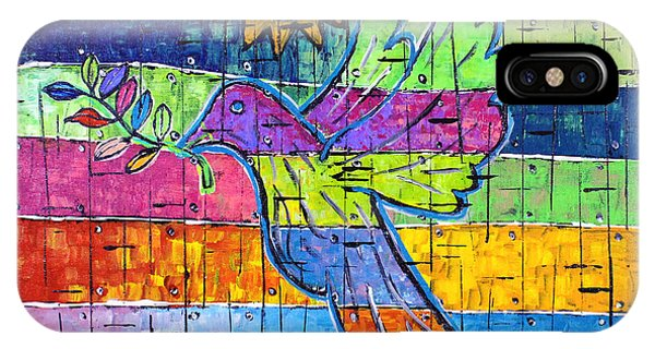 Dove Of Peace, Color And Light IPhone Case
